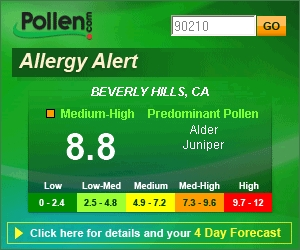 Allergy Alert™ Button (One Day Pop-up)